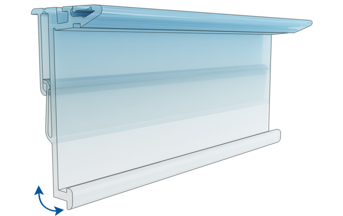 "Shelf profile SES ""Hermes"" with bracket"
